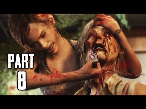 The Last of Us Left Behind Gameplay Walkthrough Part 8 - Death Reel (DLC)
