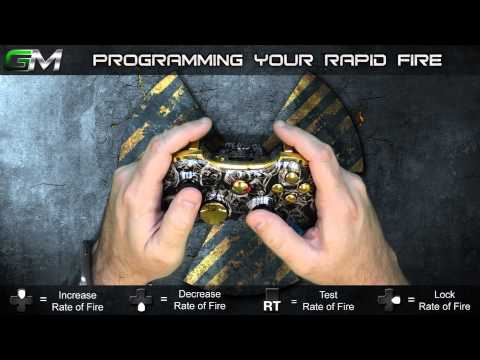 GamerModz Xbox 360 SPS-X1 Ver. 2.0 - Rapid Fire Modded Controller Tutorial
