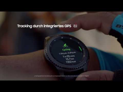 Samsung Gear S3 – Unterwegs: GPS Tracking