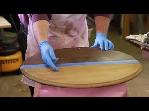 How To Strip Stain From Wood Furniture Repair Tips Youtube