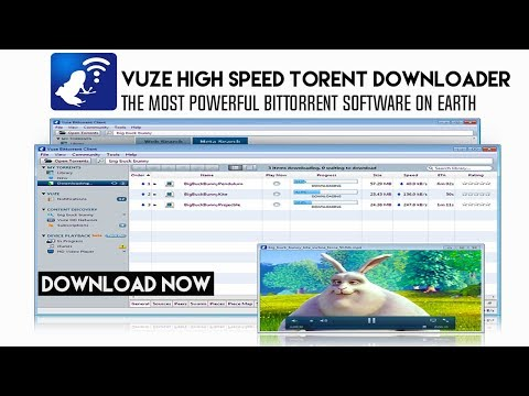 Vuze Plus  Extreme Bittorrent Client - The Most Powerful [ High Speed Downloader ]Software on Earth