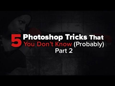 5 Photoshop Tricks You Don't Know - Part 2