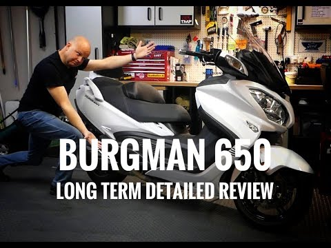 2018 Suzuki Burgman 650 Executive - Long Term Review