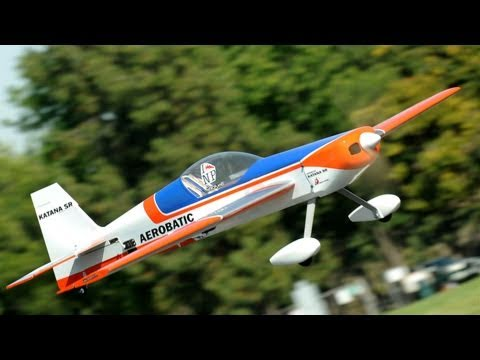 CMP EP Katana SR RC Aerobatic Sports 3D Airplane Flight Review