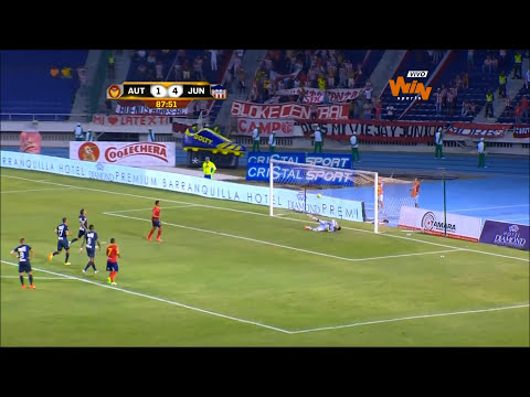 (Resumen) Uniautónoma 2-4 Junior. Fecha 2 Liga Postobón 2014-II- Win Sports