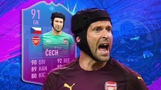 FIFA 19 SBC Cech Review - is he worth it? | Premium SBC Cech / End of Era Petr Cech Player Review
