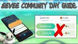Eevee Community Day Guide For Pokemon GO