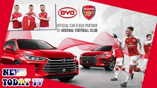 Arsenal fall victim to embarrassing scam with BYD Auto partnership
