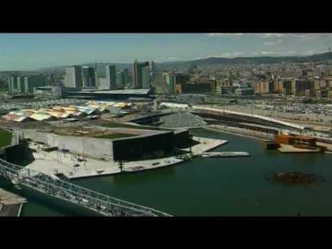 Megaconstrucciones documental Barcelona - Parc Forum 2004