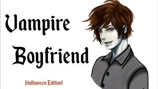 "[ASMR] Vampire Boyfriend | Male Whisper/soft talking, kisses, ""bloodsucking"""