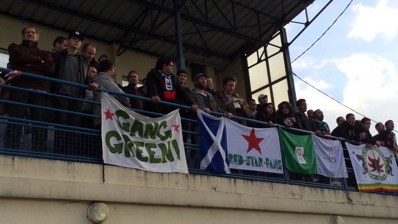 CSL AulnaysousBois  Red Star 2  3  le cop des supporters du Red