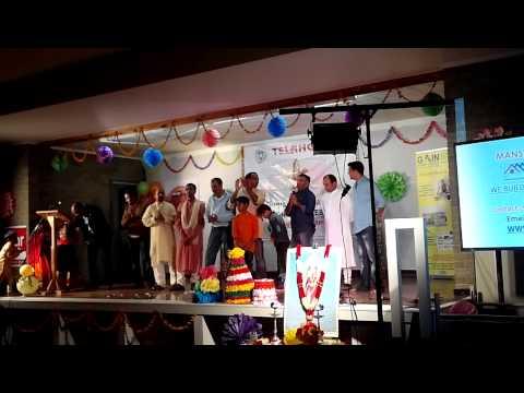 ACT Telangana formation celebrations -Vote of thnx