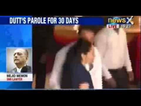 Actor Sanjay Dutt gets a month's parole, says wife is unwell - NewsX