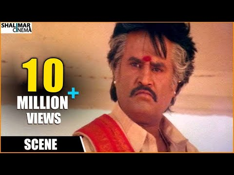 Pedarayudu Movie || Rajnikanth Extraordinary Dialogue || Mohan Babu,soundarya video