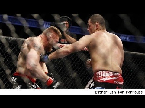 Brock Lesnar vs Cain Velasquez Full Fight Night Result FULL SCREEN