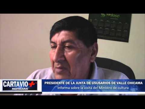 ? PRESIDENTE DE LA JUNTA DE USUSARIOS DE VALLE CHICAMA