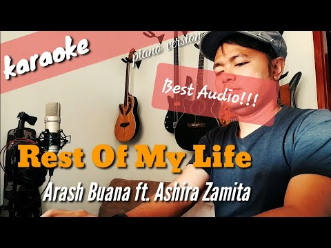Download Rest Of My Life - Arash Buana ft. Ashira Zamita karaoke Mp4 baru
