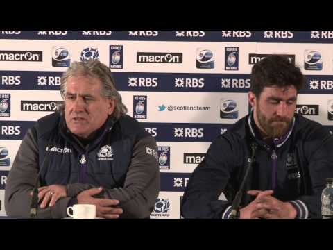 Scotland v France post match press conference with Scott Johnson and Kelly Brown