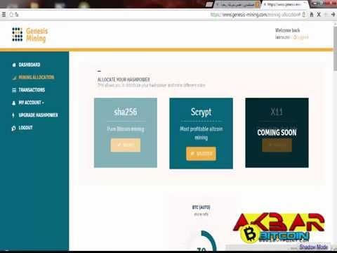 افضل موقع تعدين بيتكوين  VIDEO Mining Scrypt Altcoins (Dogecoin, Litecoin, Netcoin, Worldcoin)