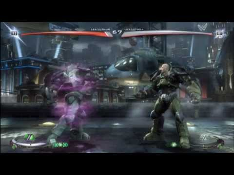 IGAU - Lex Luthor Combo Compilation - Injustice Demo