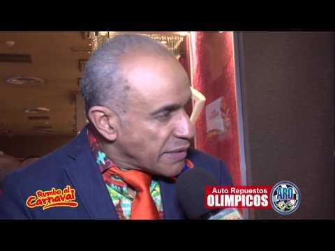 Rumbo al Carnaval Lanzamiento Entrevista Roberto Rodriguez