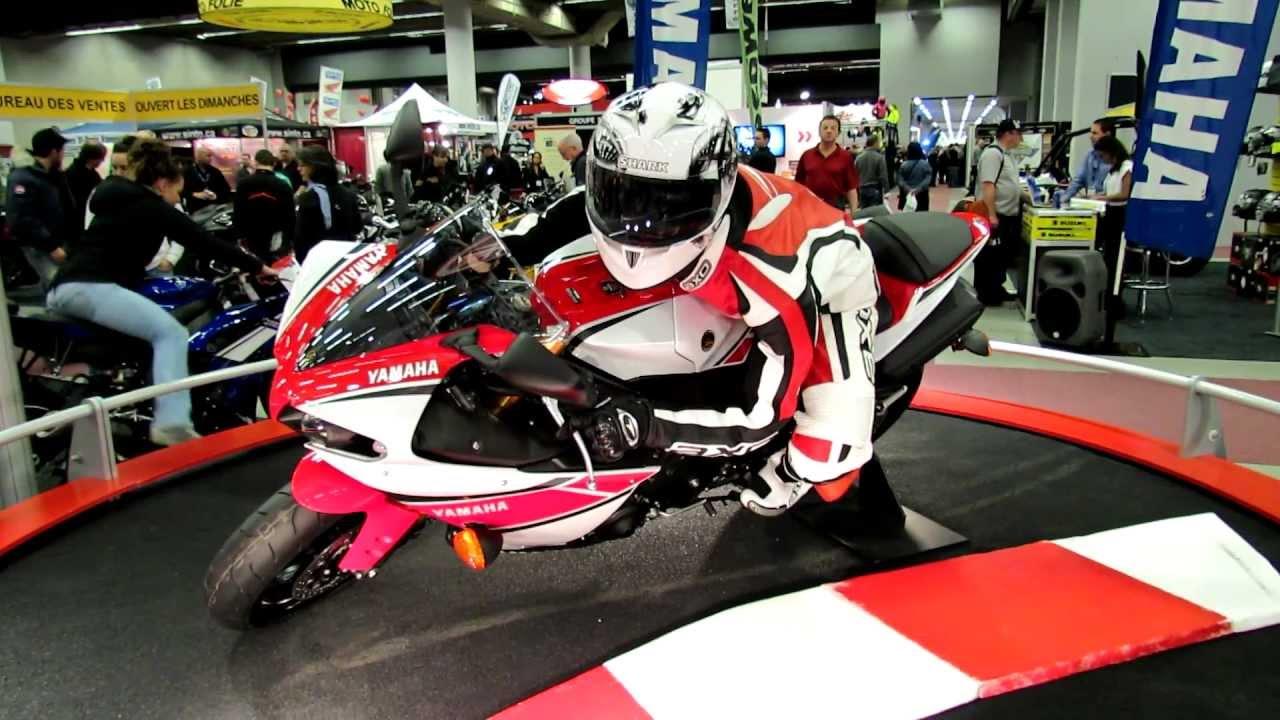 2012 yamaha r1 at 2012 montreal motorcycle show salon de - Salon de moto montreal ...