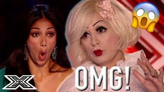 OMG! - Auditions that SHOCKED and SURPRISED The Judges | X Factor Global