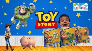 Kids unboxing Imaginext Disney/Pixar Toy Story 4|Toyreview! NEW RELEASES!!