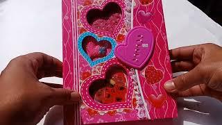 #Love Gift Idea For Password lock Diary