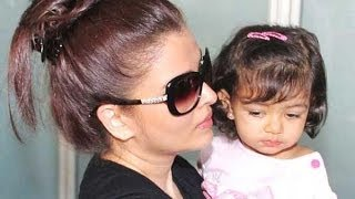 Baby's Day Out Aishwarya and Aaradhya