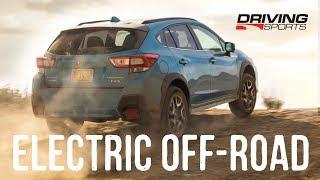 2019 Subaru Crosstrek Plug-In Electric Hybrid (PHEV) Dirt Road Review