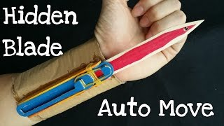 How to make the Full Automatic Hidden Blade | Assassin