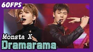 60FPS 1080P | MONSTA X - Dramarama, 몬스타엑스 - 드라마라마 @MBC Music Festival 20180106