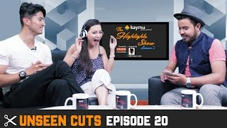 UNSEEN CUTS - Actors SUNNY SINGH & CHULTHIM GURUNG @ THE HIGHLIGHTS SHOW | DIARRY