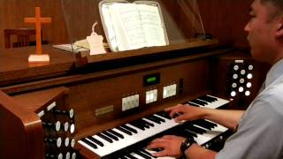 Count Your Blessings -hymn organ in Japanese church