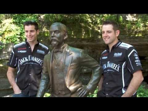 V8 Supercar star brothers start Texas campaign with a visit to the home of Jack Daniel's