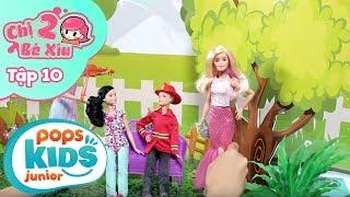 Đồ Chơi Búp Bê Barbie - Nhà Tắm Diệu Kỳ - Chị 2 Bé Xíu Tập 10