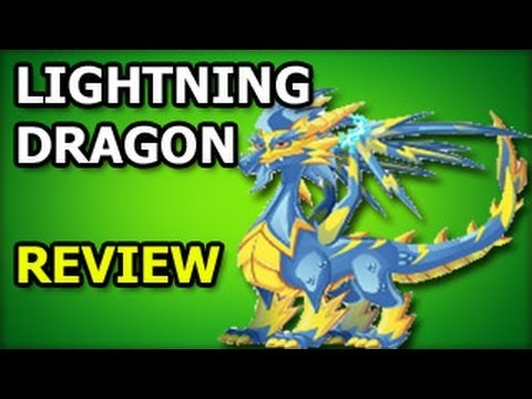 LIGHTNING DRAGON Dragon City Recruitment Tavern Review