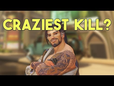 Best HANZO Kill Ever - Overwatch Try Not To Laugh Challenge Ep.9