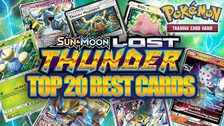 TOP 20 BEST POKEMON CARDS FROM LOST THUNDER (Set Review)