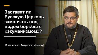 Заставят ли Русскую Церковь замолчать под видом борьбы с «экуменизмом»? В защиту еп. Амвросия