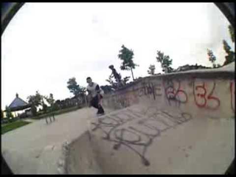1 Minute Of Shitty Skatepark Footage - Mckinney