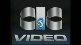 Esselte Video / CIC Video logo (with Finnish warning text)