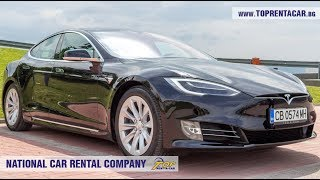Tesla Model S 75D 2018 for rent from Top Rent A Car Bulgaria
