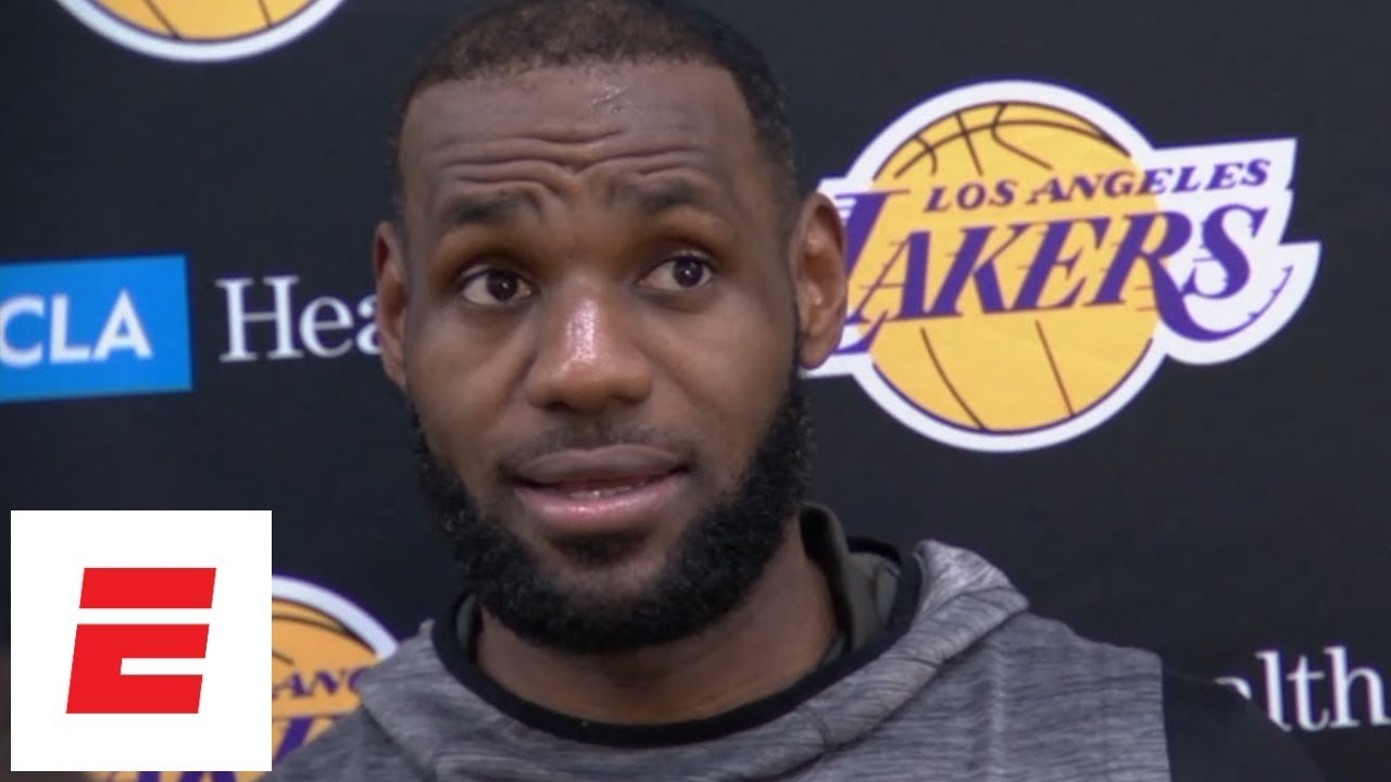 LeBron James on what Lakers want to improve on: 'Everything' | NBA Interviews