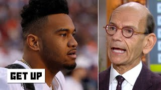 It's ridiculous for Tua to stay at Alabama and skip the NFL draft - Paul Finebaum | Get Up