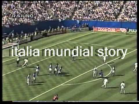 ITALIA-Norvegia 1 a 0 del Mondiale 'Usa 1994' (telecronaca primo tempo)