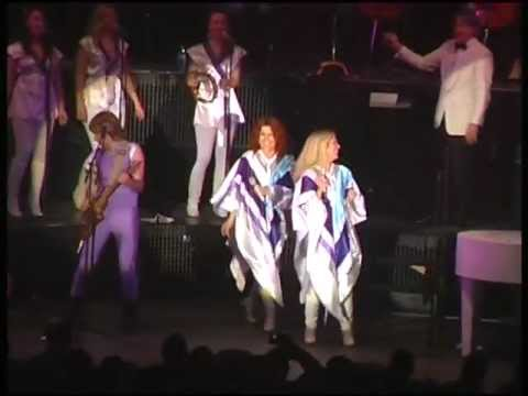 ABBA The Show - DANCING QUEEN - Wrocaw, Poland.