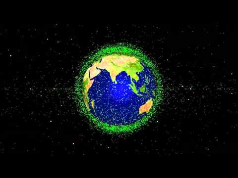 Space Debris Orbiting Earth