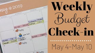 Weekly BUDGET Check-In! || Week 2 - May 2019 || Expense Tracker